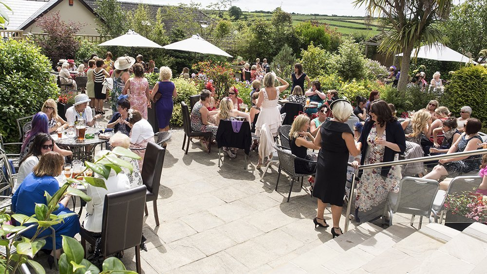 Sun yourselves on the terrace in the summer