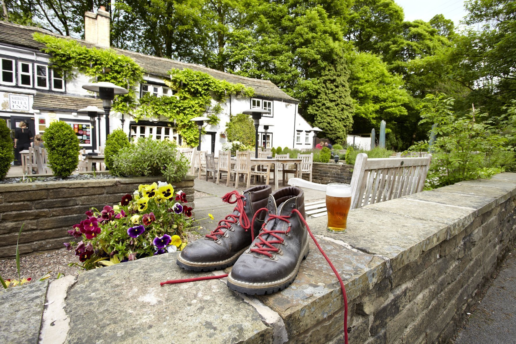 Shibden Mill Inn boots