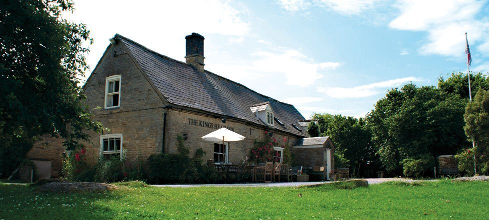 the kings head, sawdays, cotswold, bledington, restaurants in cotswold, hotels in cotswold