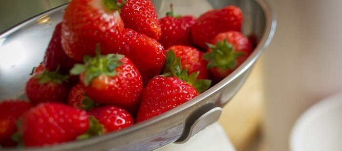 Strawberries, recipes, white chocolate, soup, summer, Great Inns