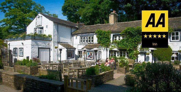 Shibden, Shibden Mill, Shibden Mill Inn, AA, best food, good food, pub, good pub, AA pub, inns, Britain, hotels