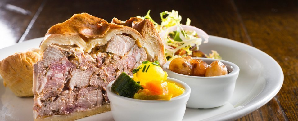 The Blue Lion Food, The blue lion menu, dine at the blue lion, love yorkshire food