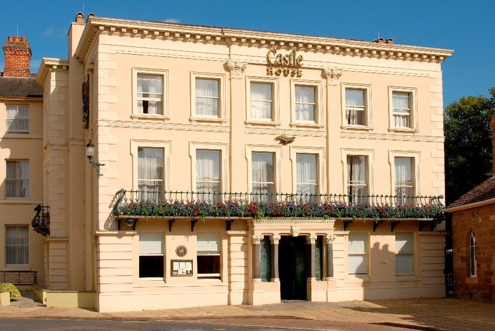 Castle House Hotel, stay in hereford, stay in herefordshire, english inns, great britain inns, georgian