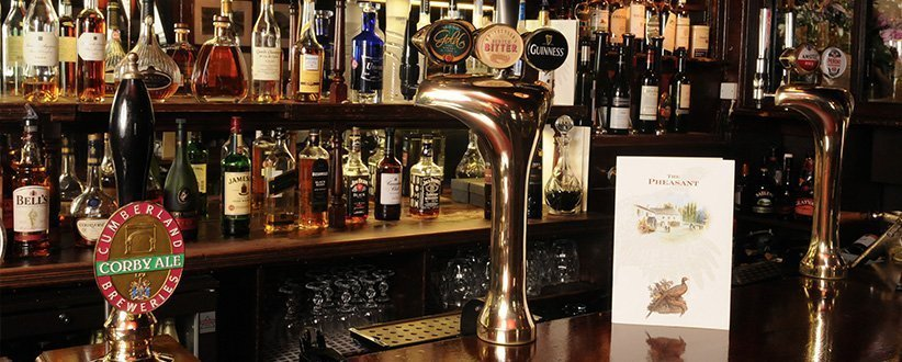 bars in cumbria, pheasant bar, inn, cockermouth, great bars in cumbria, where to drink in cumbria