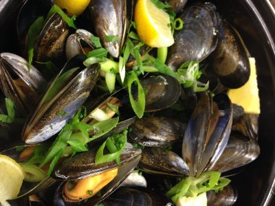 recipe, mussels, shibden mill