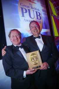 Simon & Glen with the Great British Pub Award