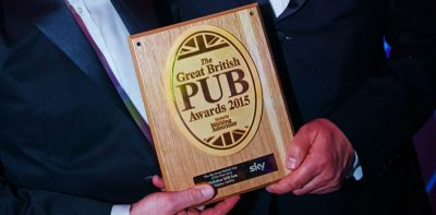 Shibden Mill Inn was handed the Pub of the Year Award