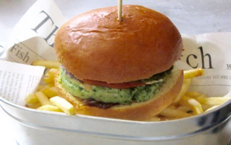 Mackerel-Burger