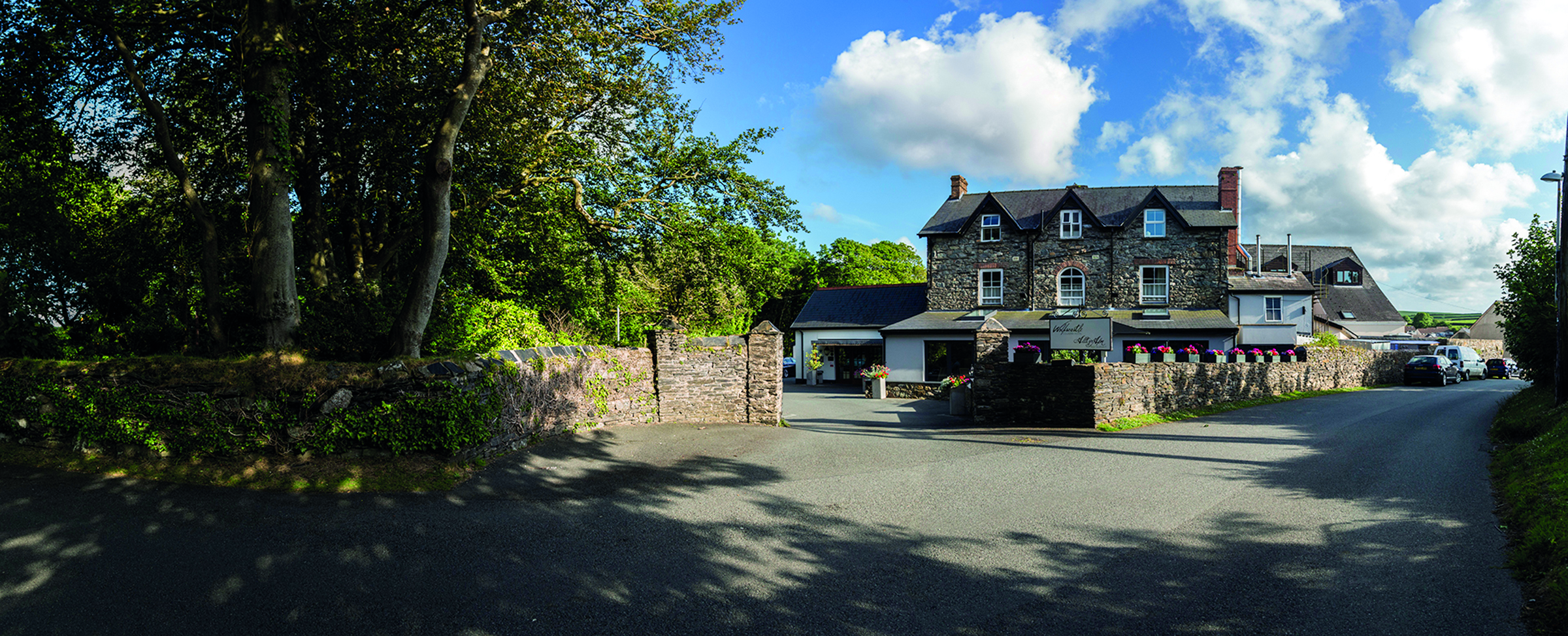 Gourmet Getaway at the Wolfscastle Hotel