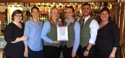 Amazing accolades aplenty for four Great Inns of Britain