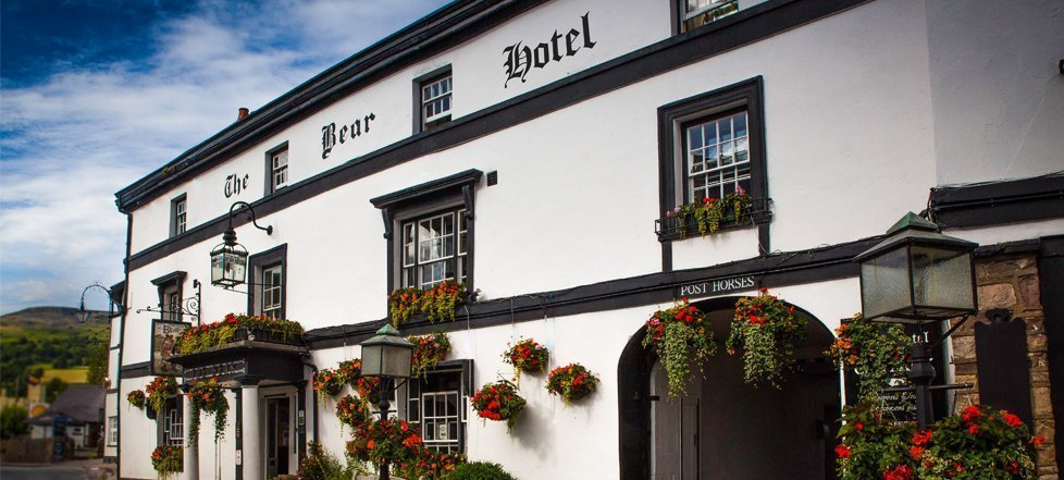 The Bear Hotel at Crickhowell - one of The Great Inns