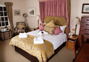 Feature Bedroom At The Wild Boar Inn Cumbria