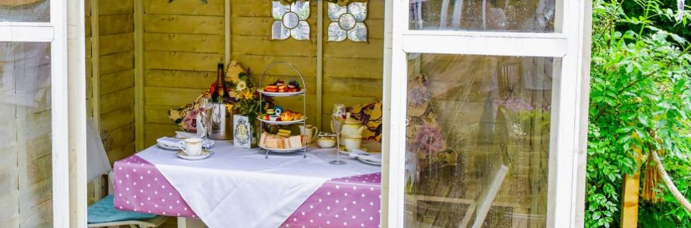 Afternoon Tea in the Shed
